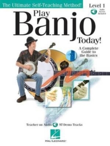 Play Banjo Today] Level One (Book/Online Audio), Paperback / softback Book