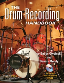 The Drum Recording Handbook, Mixed media product Book