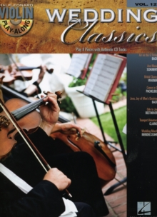 Violin Play-Along Volume 12 : Wedding Classics (Book/Online Audio), Paperback / softback Book