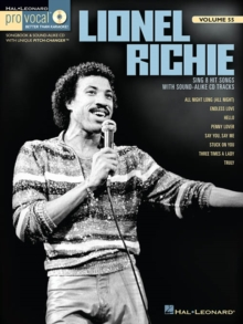 Pro Vocal Men's Edition Volume 55 : Lionel Richie, Paperback / softback Book