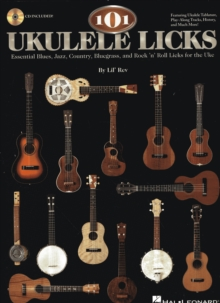 101 Ukulele Licks (Book/Online Audio), Paperback Book