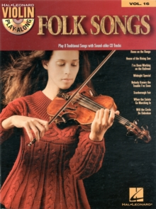 Violin Play-Along Volume 16 : Folk Songs, Paperback / softback Book
