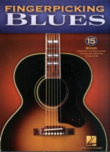 Fingerpicking Blues, Paperback Book