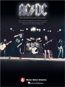 AC/DC : Easy Guitar With Riffs And Solos, Paperback / softback Book