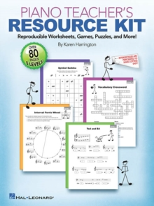 Piano Teacher's Resource Kit, Paperback Book
