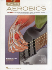 Jon Liebman : Bass Aerobics (Book/Online Audio), Paperback / softback Book
