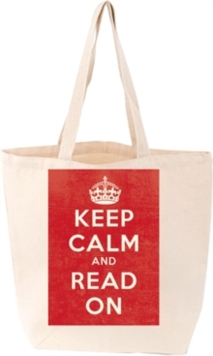 Keep Calm Tote Bag, Other printed item Book