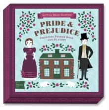 BabyLit Pride and Prejudice Counting Primer Board Book and Playset, Multiple copy pack Book