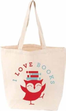 I Love Books Littlelit Tote Bag, General merchandise Book
