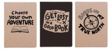 Get Lost In a Good Book 3-pack Notebooks, Notebook / blank book Book
