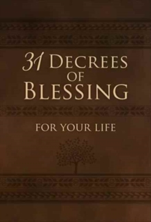 31 Decrees of Blessing for your Life, Book Book