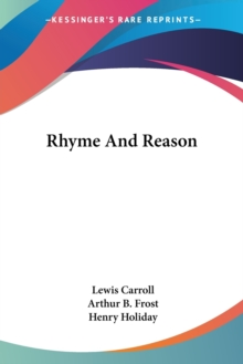 Rhyme And Reason, Paperback Book