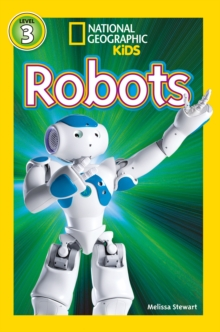 National Geographic Kids Readers: Robots, Paperback Book