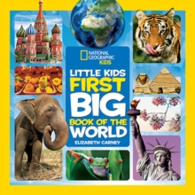 Little Kids First Big Book of the World, Hardback Book
