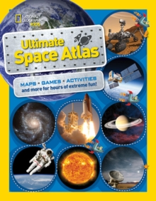 National Geographic Kids Ultimate Space Atlas, Paperback Book