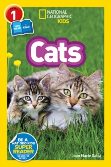 National Geographic Kids Readers: Cats, Paperback Book