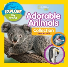 Explore My World Adorable Animal Collection 3-in-1, Hardback Book