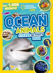 Ocean Animals Sticker Activity Book : Over 1,000 Stickers!, Paperback / softback Book