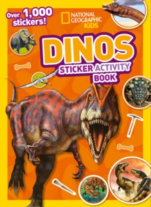 Dinos Sticker Activity Book : Over 1,000 Stickers!, Paperback / softback Book