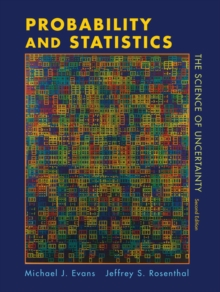 Probability and Statistics : The Science of Uncertainty, Hardback Book