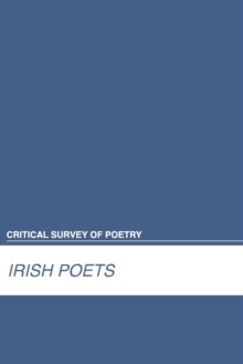 Irish Poets, Hardback Book