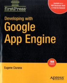 Developing with Google App Engine, Paperback / softback Book