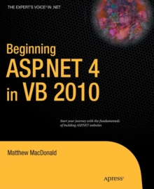 Beginning ASP.NET 4 in VB 2010, Paperback / softback Book
