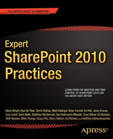 Expert SharePoint 2010 Practices, Paperback / softback Book