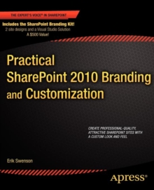 Practical SharePoint 2010 Branding and Customization, Paperback / softback Book