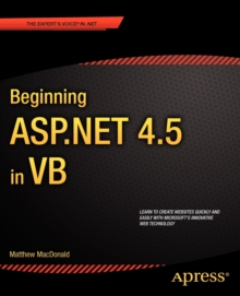 Beginning ASP.NET 4.5 in VB, Paperback / softback Book