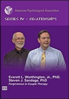 Forgiveness in Couple Therapy, DVD video Book