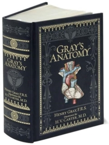 Gray's Anatomy (Barnes & Noble Collectible Classics: Omnibus Edition), Leather / fine binding Book