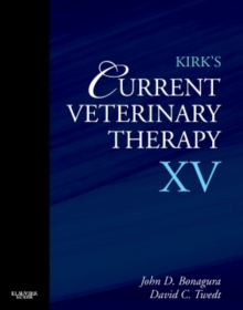 Kirk's Current Veterinary Therapy XV, Hardback Book