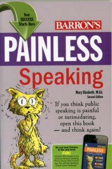 Painless Speaking, Paperback / softback Book