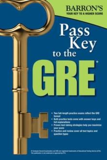 Pass Key to the GRE, 8th Edition, Paperback / softback Book