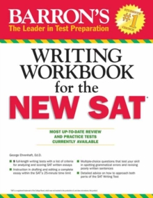 Barron's Writing Workbook for the New SAT, 4th Edition, Paperback / softback Book