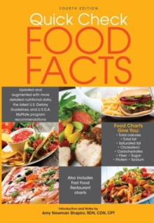 Quick Check Food Facts, Paperback Book