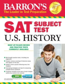 SAT Subject Test : U.S. History, Paperback Book