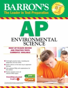 Barron's AP Environmental Science with Online Tests, Paperback / softback Book