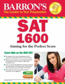 Barron's SAT 1600 with Online Test, Paperback / softback Book