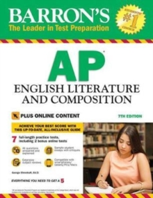 Barron's AP English Literature and Composition, Paperback Book