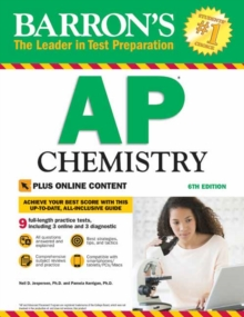 Barron's AP Chemistry with Online Tests, Paperback / softback Book