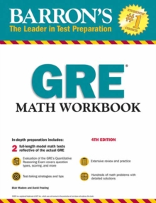 GRE Math Workbook, Paperback / softback Book
