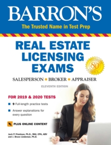 Barron's Real Estate Licensing Exams with Online Digital Flashcards, Paperback / softback Book
