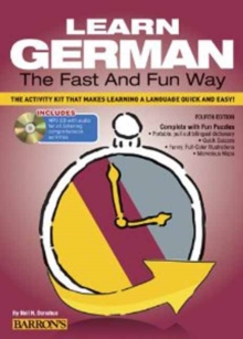 Learn German the Fast and Fun Way with MP3 CD, Paperback Book