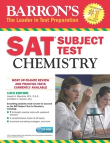 SAT Chemistry, Mixed media product Book