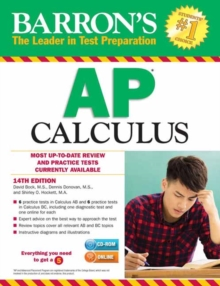 Barron's AP Calculus, Mixed media product Book