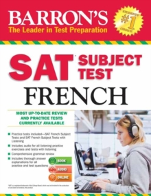 SAT Subject Test French, Mixed media product Book