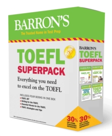 TOEFL iBT Superpack : 4 Books + Practice Tests + Audio Online, Paperback / softback Book