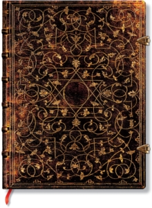 GROLIER ORNAMENTALI ULTRA LINED JOURNAL, Hardback Book